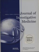 Journal of Investigative Medicine: 51 (2)