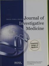 Journal of Investigative Medicine: 51 (4)