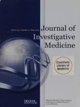 Journal of Investigative Medicine: 52 (4)